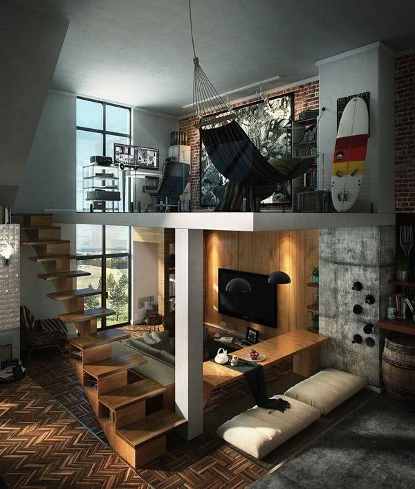 Loft para homens