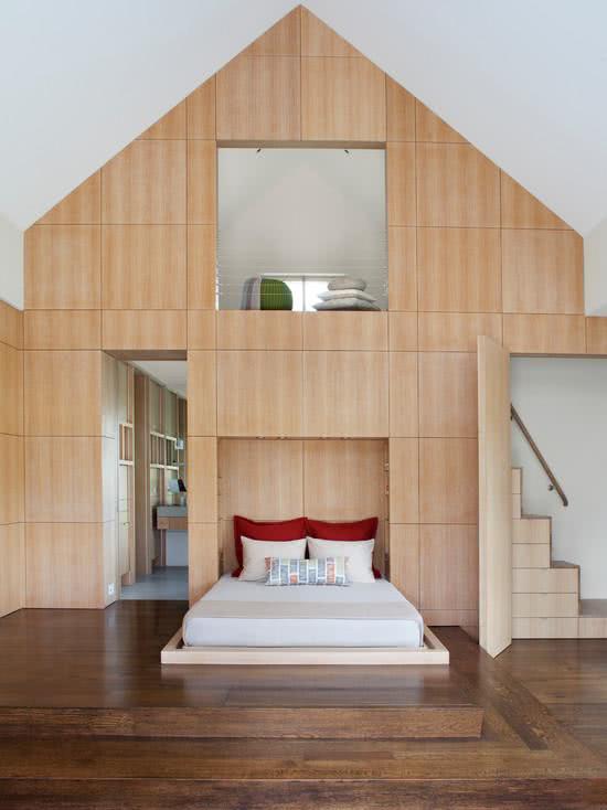 Loft em forma de casa