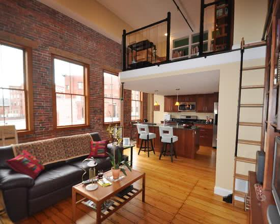 85 modelos de lofts decorados para te inspirar - Loft pequeno ...