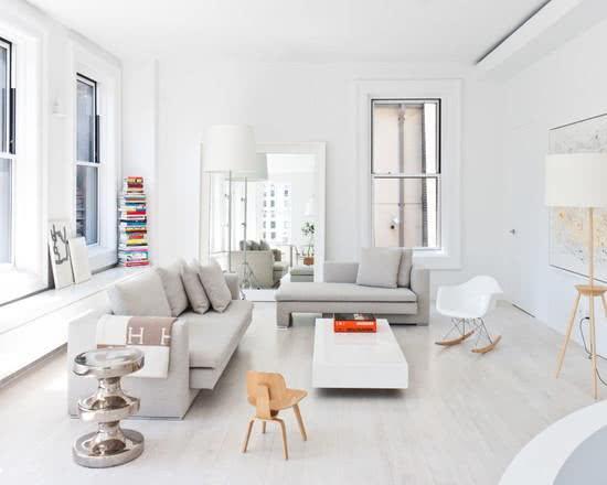 Uma escada com designer diferenciado para deixar o seu loft com um ar sofisticado