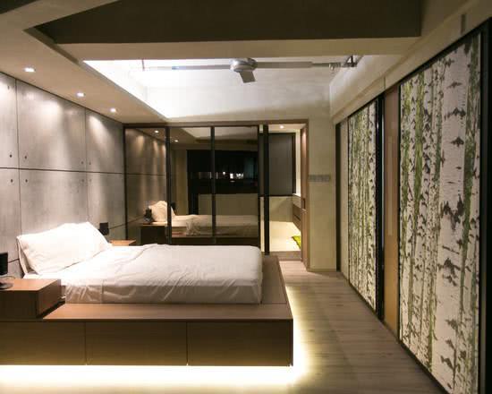Imagem 43 – Residência em vidro no estilo minimalista