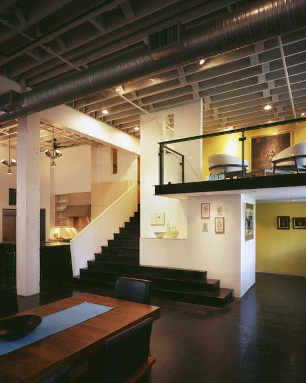 Um loft moderno, mas sem deixar de valorizar as plantas