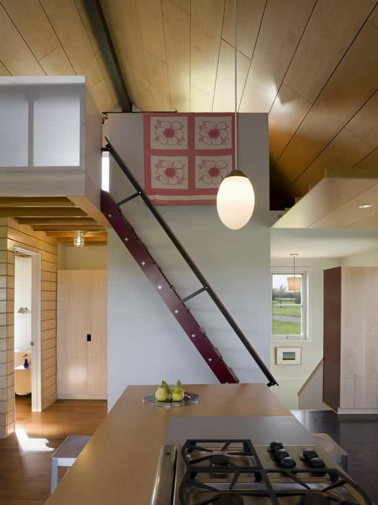 Loft com estilo de casa japonesa