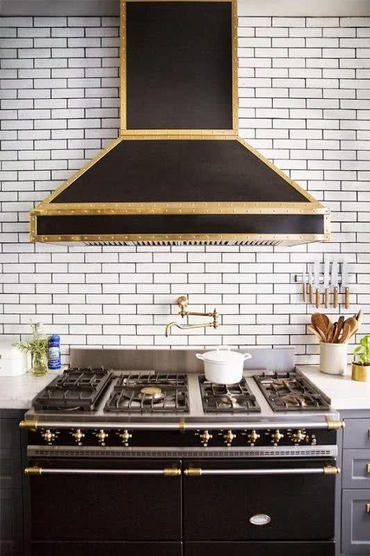 decoracao cozinha loft:90 Projetos com Diferentes Revestimentos para Cozinhas