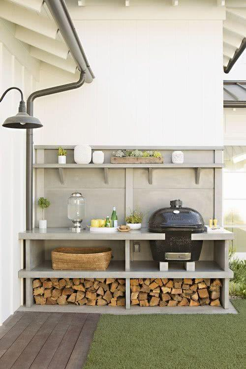 50 ambientes decorados com churrasqueira - Decoratie jardin terras ...
