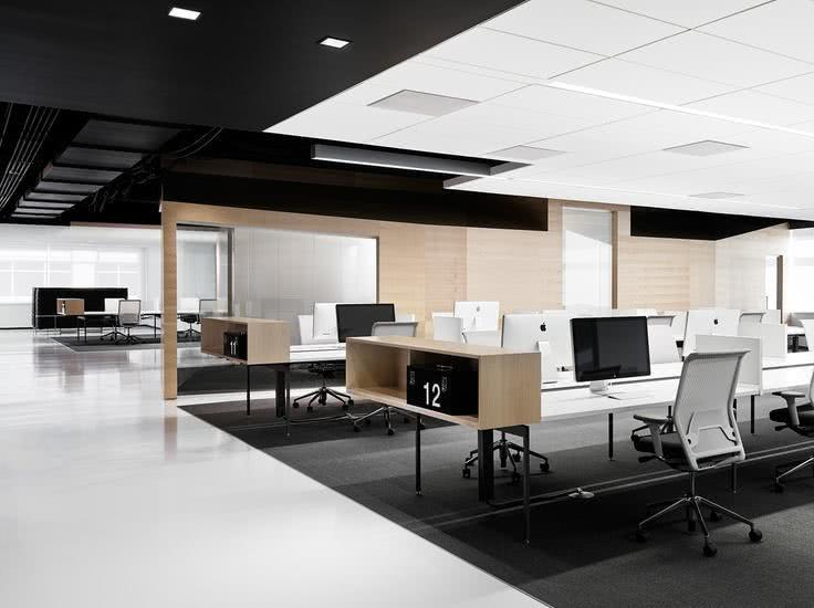 50 modelos de decoração de escritórios corporativos