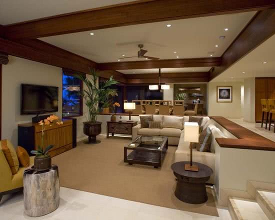170 modelos de decoração de salas de estar   fotos
