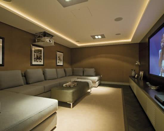 95 Exemplos De Decorao Home Theaters Em Ambientes