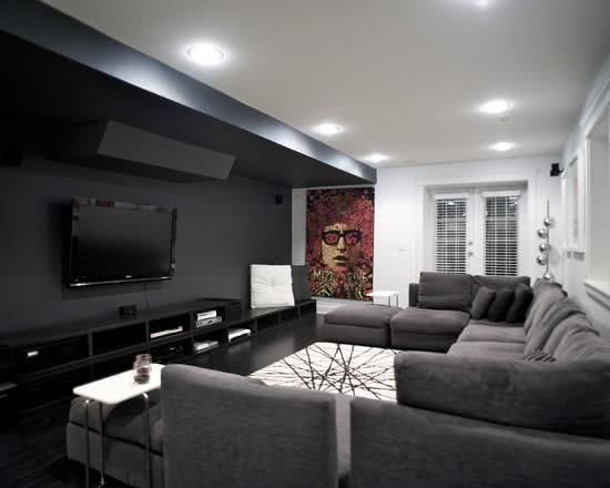 Exemplos De Decoracao De Home Theaters Em Ambientes besides Apartments Winning Amazing Carriage House Garage Plans Bedrooms furthermore Teen Room Decorations as well Residential Modern as well Bedroom False Ceiling. on apartment interior designs pictures