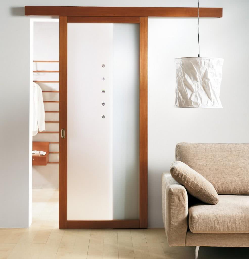 90 modelos de portas tipos correr madeira vidro e fotos - Correderas para puertas corredizas ...
