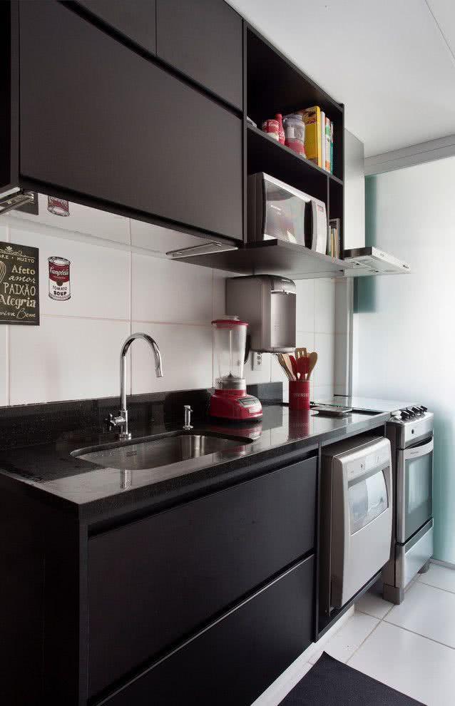 Adesivo Flor De Lis ~ 119 Cozinhas Pequenas Modernas, Planejadas e Decoradas