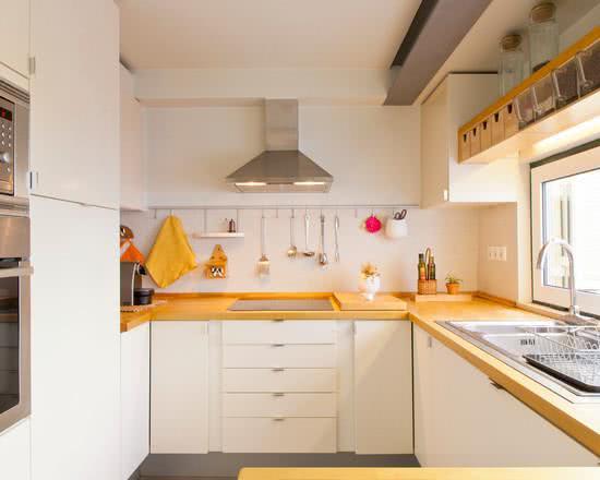 119 Cozinhas Pequenas Modernas, Planejadas e Decoradas # Bancada Cozinha Simples