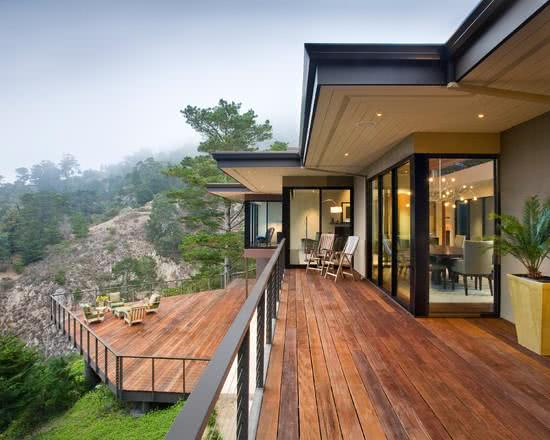 85 ambientes com decks de madeira decora o e modelos for Piscine 01 gex
