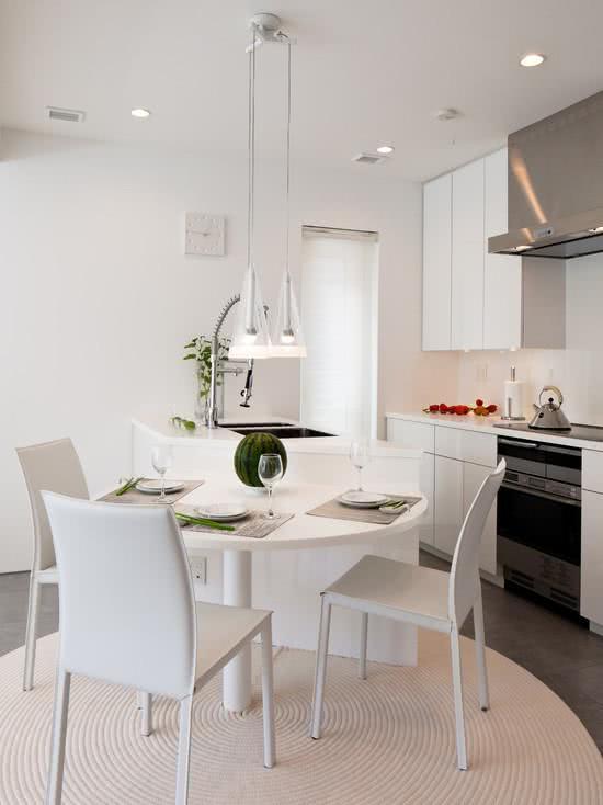 95 cozinhas pequenas modernas planejadas e decoradas - Armarios para sala de estar ...