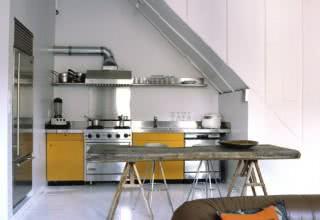 Cozinhas pequenas decoradas e planejadas
