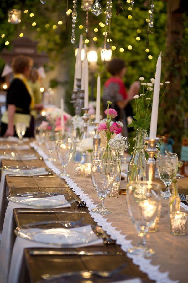 Matrimonio Country Chic Verde : Mesas de casamento decoradas e inspiradoras