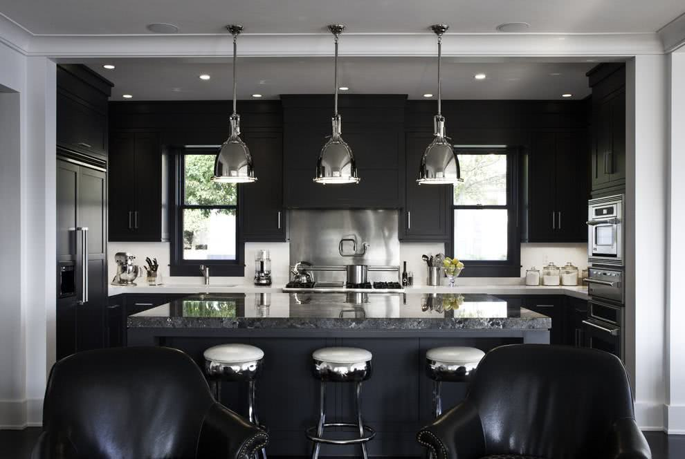 Cozinha Preta 89 Modelos Fotos E Projetos Incríveis