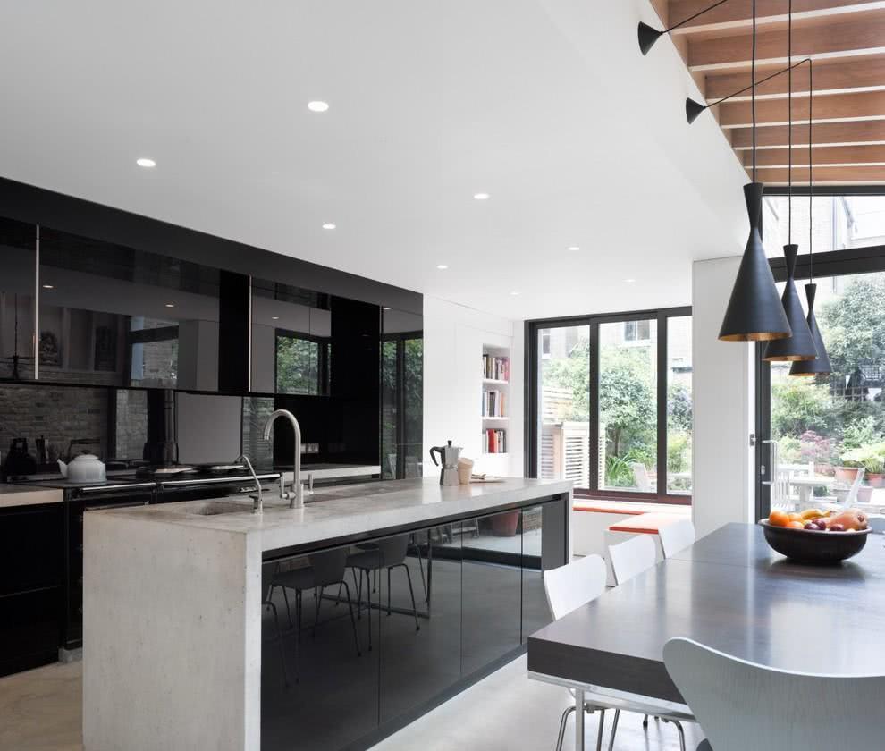 Cozinha Preta 89 Modelos Fotos E Projetos Incr Veis