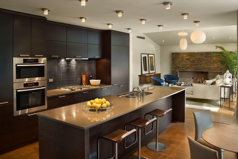 Cozinha preta 89 modelos fotos e projetos incr veis for Best modern kitchen design ideas 2015