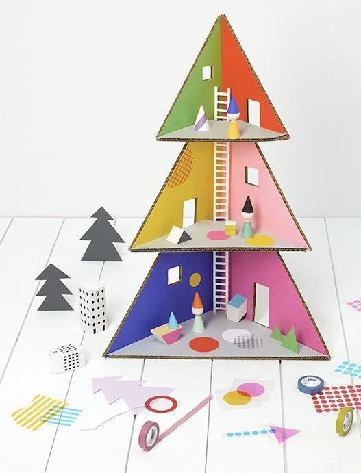Árvore de Natal para arquitetos