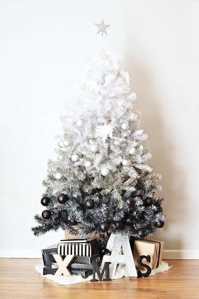 Árvore de Natal em degradê