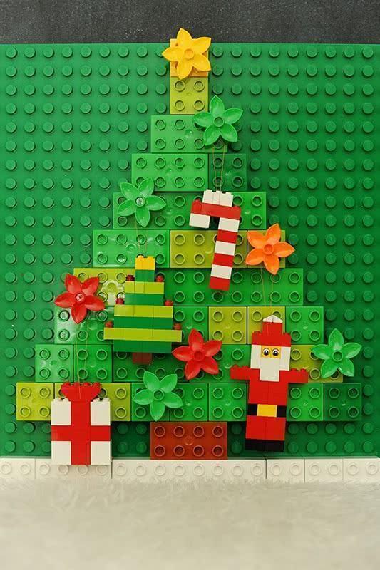 Árvore de Natal de lego