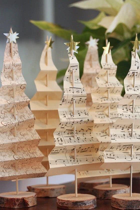 Árvore de Natal para músicos