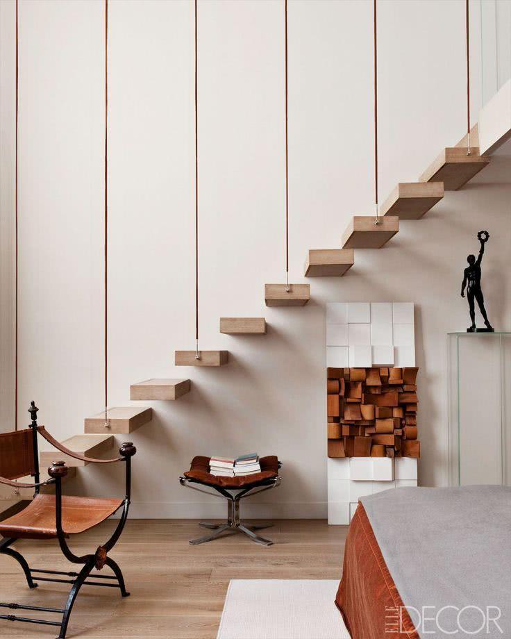 modelos de escadas diferentes : 50 Modelos de Escadas Internas Diferentes e Criativas