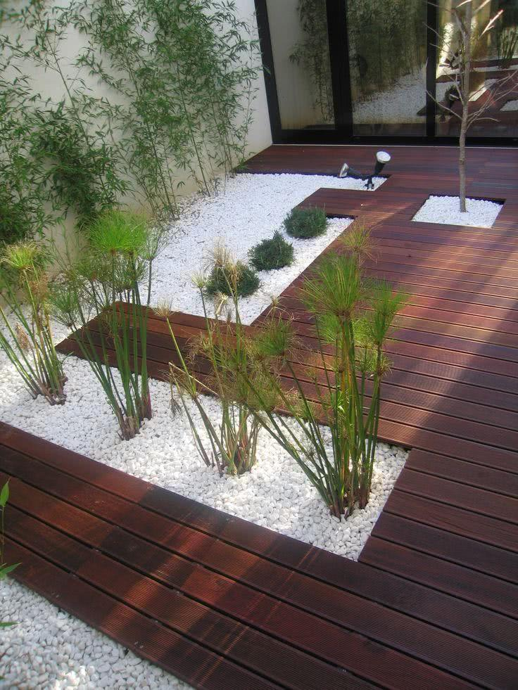 pedras de jardim branca : pedras de jardim branca:Jardim de Inverno – 49 Modelos, Decoração e Plantas