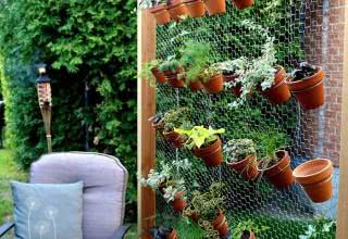 Jardim suspenso para a sua decoração