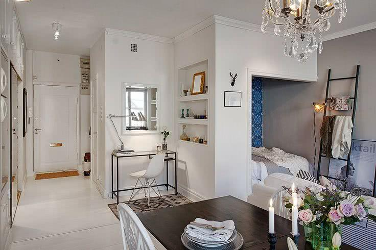 85 apartamentos pequenos decorados incr veis for Decoracion de loft pequenos