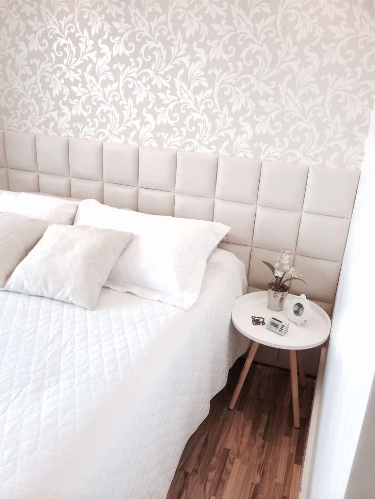 50 cabeceiras de camas decoradas para inpirar fotos - Papel para paredes ikea ...