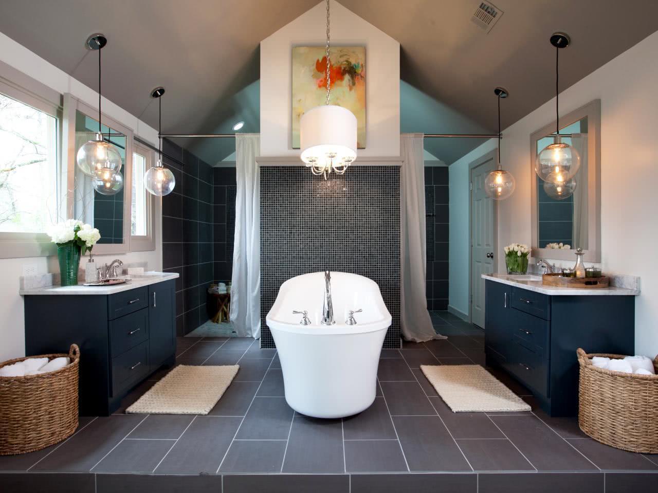 75  Projetos de Banheiros de Luxo Fotos #846647 1280 959