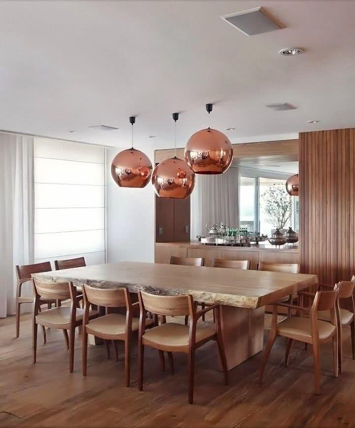 Sala De Jantar Retangular ~ 51 Lustres para Sala de Jantar  Formatos e Acabamentos