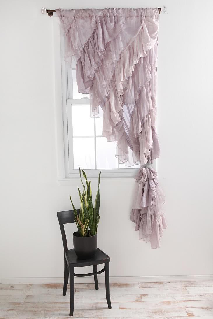 41 cortinas para salas de estar com diferentes cores - Diferentes modelos de cortinas para sala ...