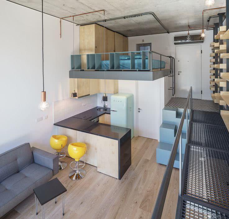 85 apartamentos pequenos decorados incr veis for Apartamentos de diseno pequenos