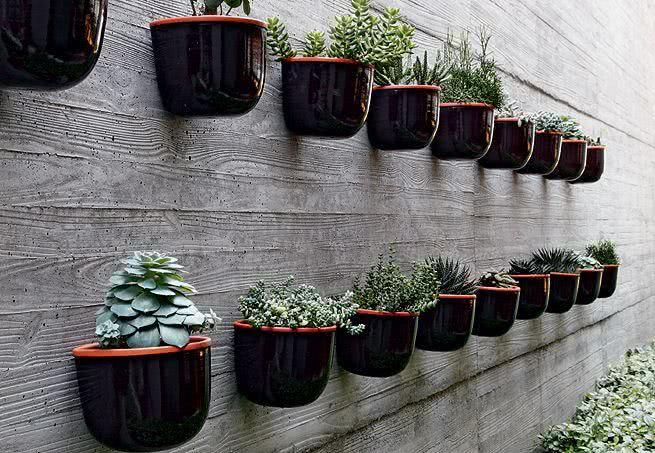 49 Fotos De Jardim Suspenso Com Vasos