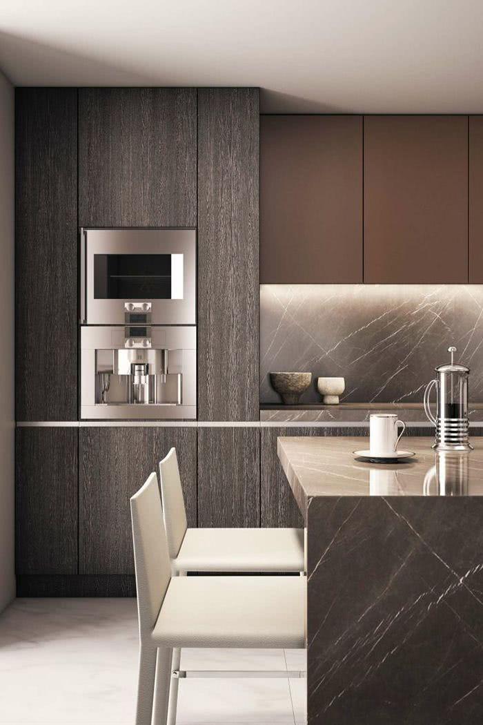 Contemporary Black Kitchen Design Ideas: Cozinha Preta: 89+ Modelos, Fotos E Projetos Incríveis
