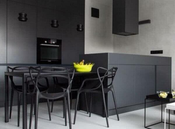 Cozinha Preta: 89+ Modelos e Fotos Incríveis!