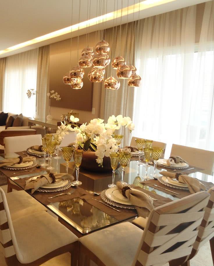 Lustre Moderno Para Sala De Estar ~ 51 Lustres para Sala de Jantar  Formatos e Acabamentos