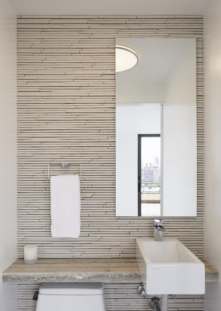 56 projetos de lavabos pequenos decorados fotos for Ideas para lavabos pequenos