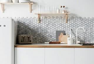 Cozinhas decoradas com pastilhas