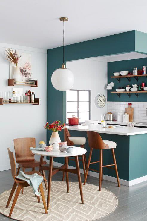 Cozinhas Americanas Com Salas Interligadas 60 Fotos