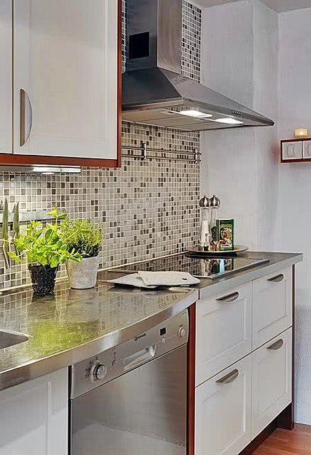 decoracao cozinha revestimento:85 Cozinhas Decoradas com Pastilhas – Fotos e Aplicações
