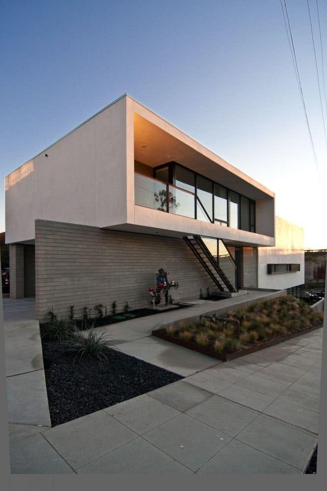92 fachadas de casas modernas para te inspirar for Fachadas contemporaneas para casas