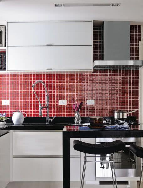 85 Cozinhas Decoradas com Pastilhas - Fotos e Aplica??es
