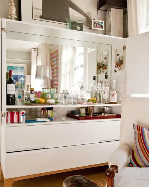 50 Ideias de Decoraç u00e3o de Home Bar em Casa -> Decoração De Home Bar