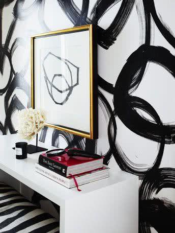 ambientes decorados com grafites e desenhos na parede : 90 Ambientes Decorados com Grafites e Desenhos na Parede