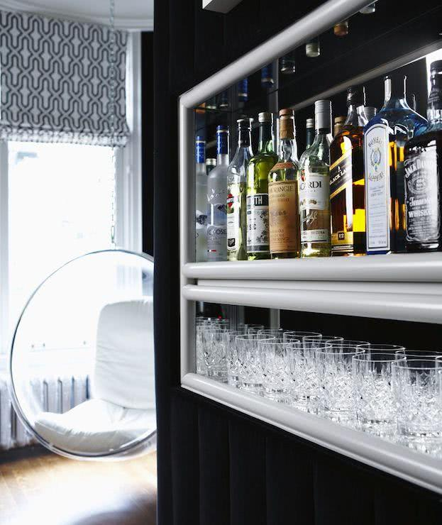 50 ideias de decora o de home bar em casa. Black Bedroom Furniture Sets. Home Design Ideas