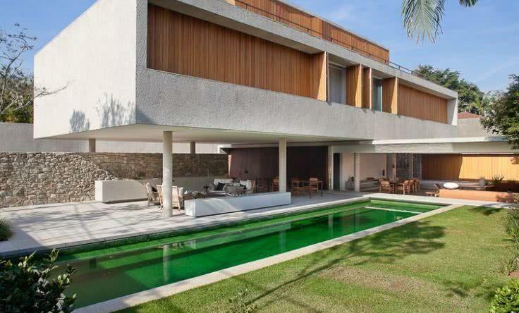 92 fachadas de casas modernas para você se inspirar